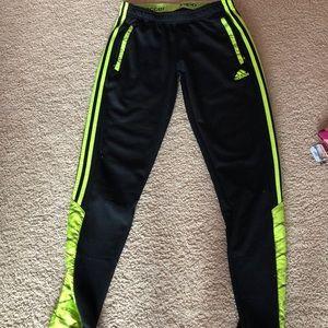 adidas sweatpants, hardly worn